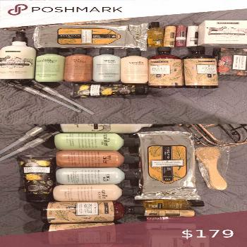 Beekman 1802 PHILOSOPHY wash bath hand wipes soap As pictured  Soaps  Sweet grass Lip balm Lotion