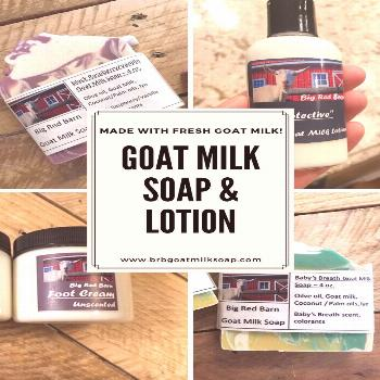 Fresh, all natural goat milk soaps and lotions Need some extra-moisturizing soaps and lotions in yo