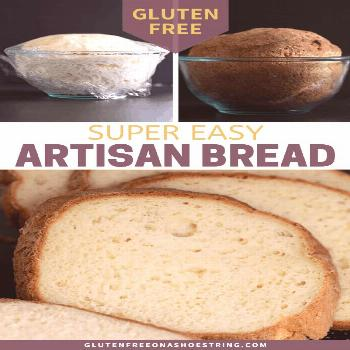 Gluten Free Artisan Bread The simplest recipe for gluten free artisan bread, that can be mixed by h