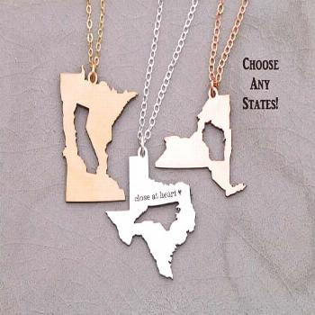 SALE • Best Friend Gift Graduation Necklace Sister Going Away Gift Moving •Long Distance Relati