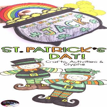 St. Patrick's day activities and glyphs: St. Patrick's crafts and more, patricks day ideas for teen