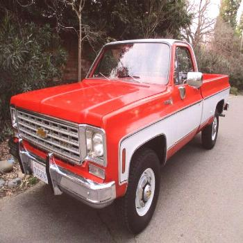 Well Optioned & Sharp Looking: 1975 Chevrolet K20 4x4/350/4-Speed